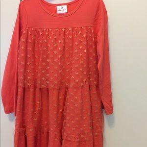 Cute longsleeves dress for girls great for fall!